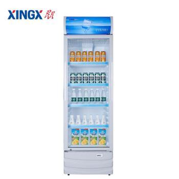 【德百】星星(XINGX)LSC-316C316升侧开门双层玻璃更锁冷饮品展示更直观商用展示柜