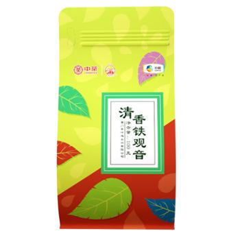 中茶 海堤铁观音清香型XT5612兰香 袋装散装100g