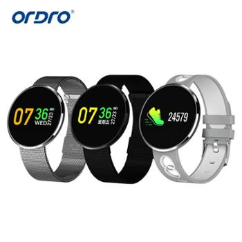 Ordro欧达CF006H运动手环手表监测血压心率信息推送来电显示提醒