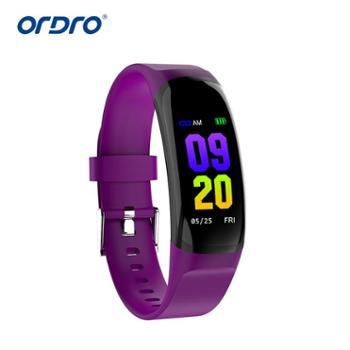 Ordro欧达MK04运动手环手表监测血压心率信息推送来电显示提醒