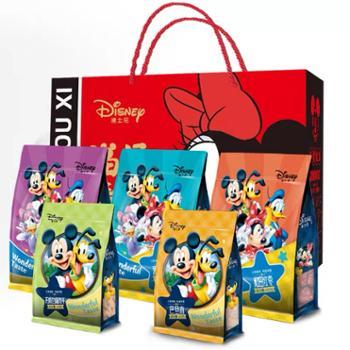 迪士尼 坚果礼盒 福禄寿喜红色款 1090g