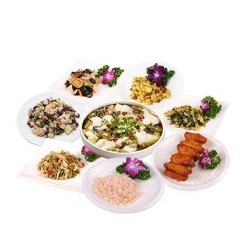 苏知味 年夜饭半成品套餐10道菜礼盒装 组合装