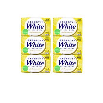 花王/KAO 植物香皂130g*6柠檬香