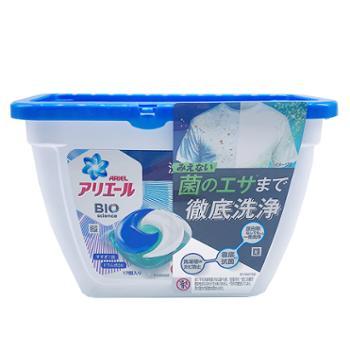 宝洁3D洗衣凝珠 蓝色清新芳香17个装