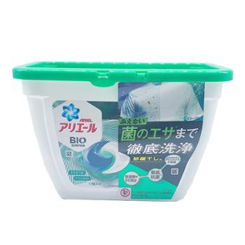 宝洁3D洗衣凝珠 绿色清香17个装