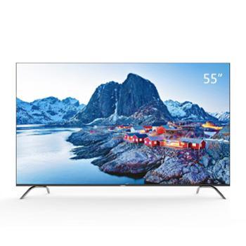 长虹55D4P55英寸超轻薄全面屏HDR人工智能LED液晶电视机