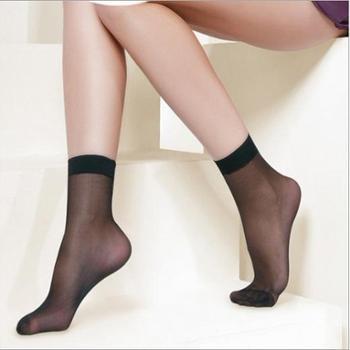 苹果牌丝袜自由点 超强弹性短丝袜 对对袜 (5011款)1包=6双