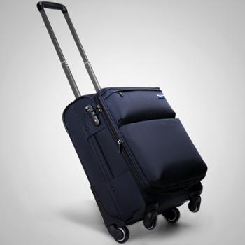 亨得利handry拉杆箱男女万向轮旅行旅游行李箱商务出差旅行箱 20寸24寸_9186