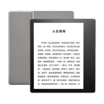 全新亚马逊kindleoasis第三代尊享版8G银灰色电子书阅读器