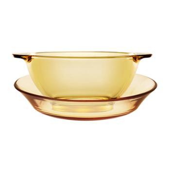 康宁REVERE琥珀餐具碗盘两件套