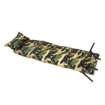 乐游迷彩野营带枕九点双拼垫HWF-110A