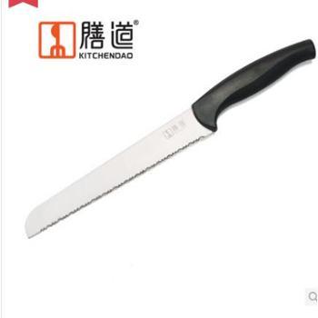 膳道 不锈钢8寸切面包刀 锯齿面包刀 少面包屑 西点刀