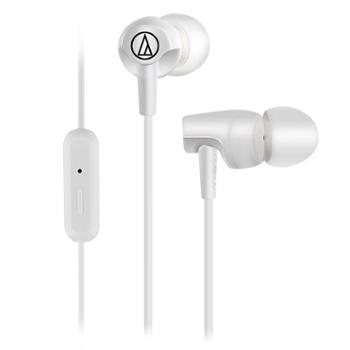 Audio Technica/铁三角 ATH-CLR100IS 入耳式手机运动线控耳机