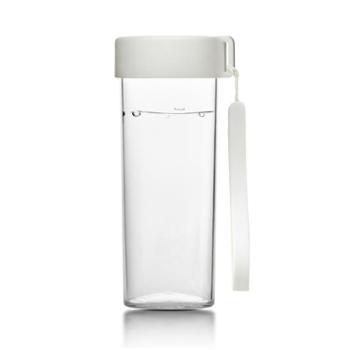 emoi基本生活水杯塑料清新简约随行个性便携男女学生韩版耐摔杯子