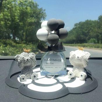 车内饰品摆件个性创意漂亮可爱气球汽车用品小车上装饰女车载香水
