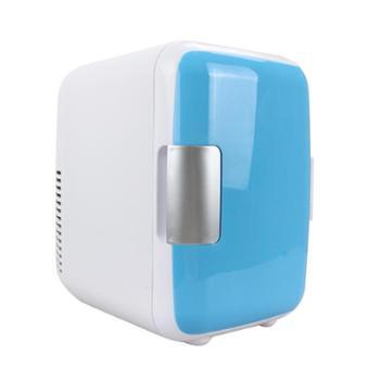 靖童 4升车载冰箱迷你冷暖小冰箱4L车家两用小型宿舍家用冷藏箱