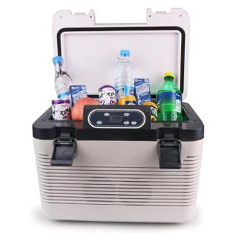 19升双制冷车载冰箱迷你车家两用冷暖恒温冷藏箱大货车专用小冰箱
