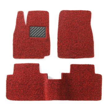 车美雅汽车丝圈脚垫专车专用定制防水防滑耐脏易洗速干可裁剪21毫米-五座专用