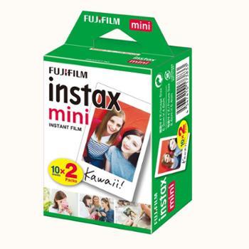 富士立拍立得mini7s mini8 mini25 9 90 相纸胶片白边相纸20张
