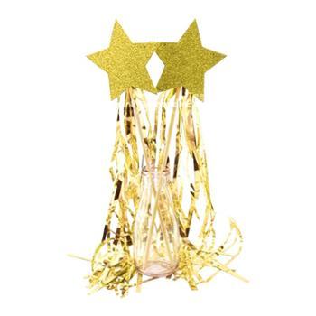 星星雨丝仙女棒生日派对布置装扮用品节庆聚会婚礼儿童拍照道具