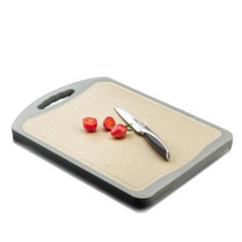 维艾稻壳砧板整竹切菜板子家用刀板厨房擀面板占案板加厚抗菌防霉