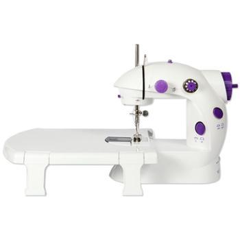腾星202缝纫机家用小型迷你电动全自动多功能手动吃厚微型裁缝机