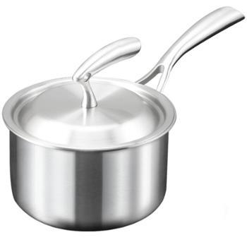 德国ameal304不锈钢小奶锅婴儿宝宝辅食锅不粘锅煮牛奶泡面煮面锅