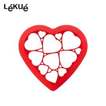 LEKUE乐葵拼图曲奇饼干模具diy卡通雪花爱心家用厨房烘焙烘培工具