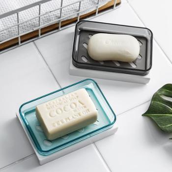 北欧大号肥皂盒架卫生间沥水家用创意香皂架浴室置物架肥皂收纳架
