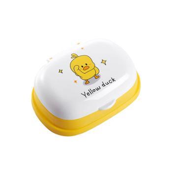 肥皂盒带盖沥水创意个性卫生间放肥皂的盒子大号可爱卡通香皂盒