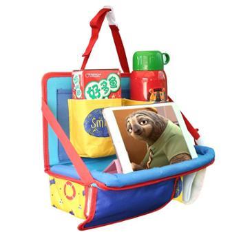 汽车多功能座椅收纳袋椅背置物挂袋车载储物车内折叠餐桌餐盘iPad