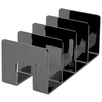 桌面一体文件架 书立 书架书档 收纳盒置物 办公文具学生用品 一体成型 无需组装