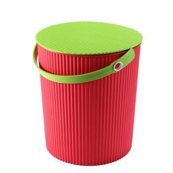 水桶凳塑料加厚可坐便携家用洗车钓鱼桶手提洗澡篮浴室收纳桶带盖