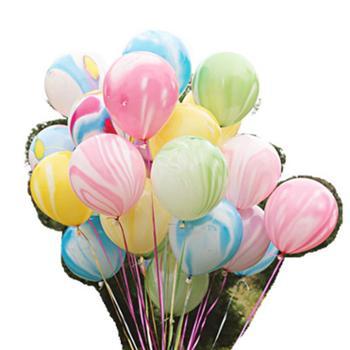 云彩气球100个装结婚婚礼房间场景装饰儿童生日派对活动布置婚庆
