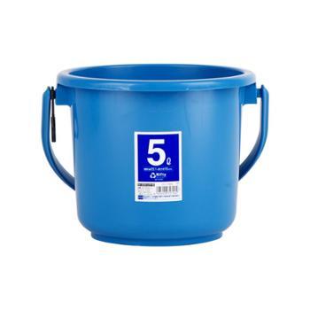 IRIS/爱丽思 手提塑料水桶加厚多功能储水
