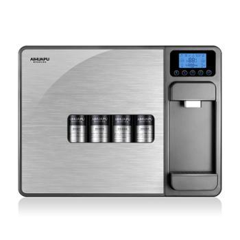 爱华普 家用净水器直饮加热一体机自来水过滤台式壁挂纯水机