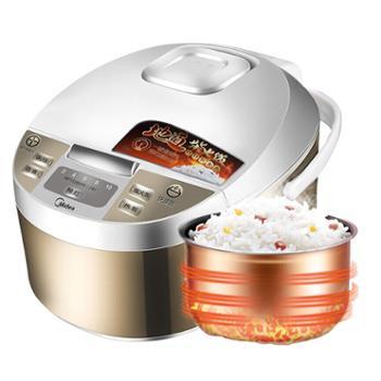 Midea/美的WFD4015电饭煲锅4L大容量智能家用预约全自动A1