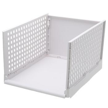 衣柜收纳架可折叠拆卸收纳箱分隔架抽屉式推拉框