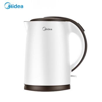 美的/Midea 不锈钢烧水壶1.5L TM1502b 白色