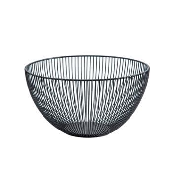 集美铁艺水果篮简约镂空水果收纳篮创意沥水果盘