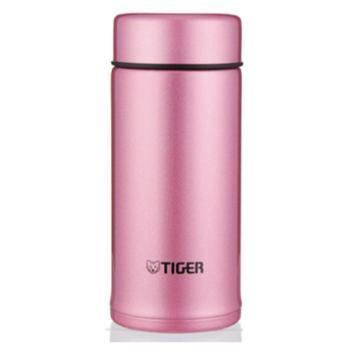 虎牌(Tiger)保温杯 轻量迷你型水杯MMP-A20C-PH亮炫粉200ml