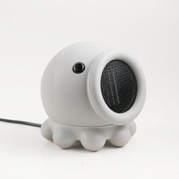 可爱度 章鱼摇头速热小型电暖器 170*179*174mm