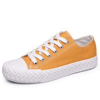 金猴平底经典低帮休闲女帆布鞋Q54004