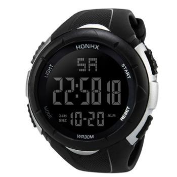 时光一百/TIME100时尚流行多功能学生表潮酷圆形运动手表W40029M