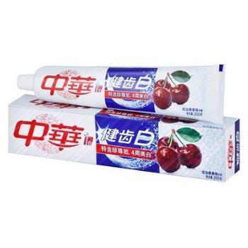中华 牙膏健齿白炫动果香味200g清新口气去口臭去牙渍防蛀