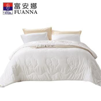 富安娜/FUANNA 磨毛布棉花被被芯 加厚/特厚