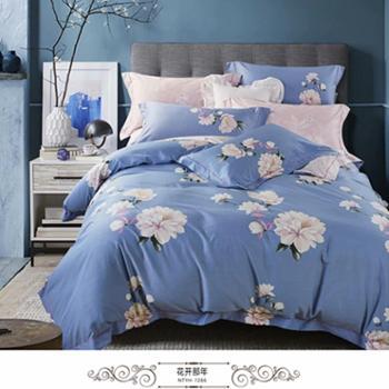 安琪尔家纺 床上用品 全棉活性印花四件套新款