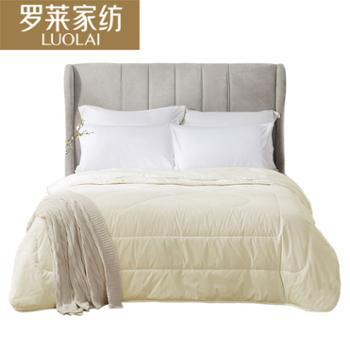 罗莱家纺床上用品被子逸香羊毛被200*230cm