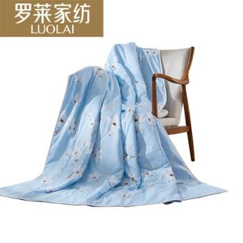 罗莱家纺 夏凉空调被悠然花香夏被150*200cm