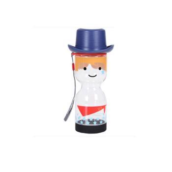 乐扣乐扣创意国家娃娃HIPHOP透明塑料便携夏天水杯防漏大容量